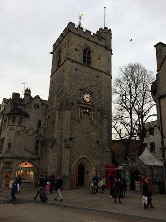 Carfax Tower Picture Of Carfax Tower Oxford Tripadvisor
