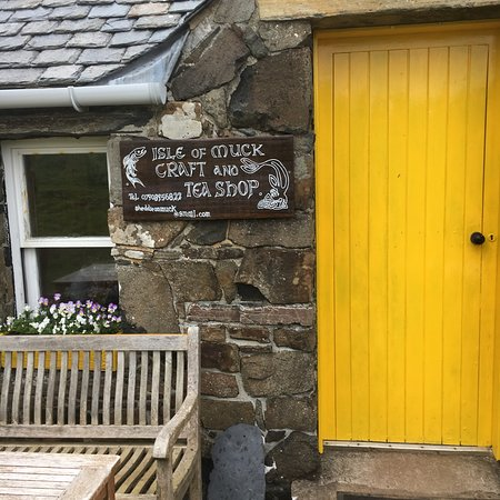 Остров Мак, UK: Isle of Muck Craft Shop and Tea Room