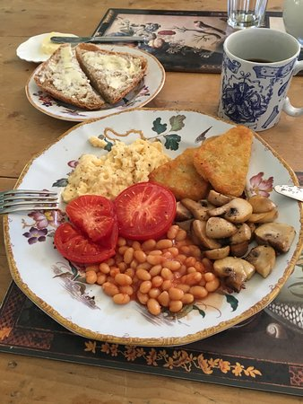 Farrington Gurney, UK: Amazing Veggie Breakfast