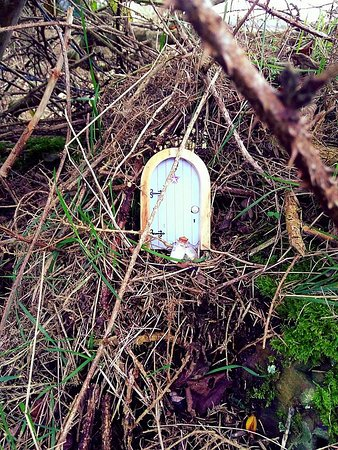 Ballynoe Stone Circle: Little trinkets left all around.