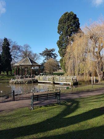 Gheluvelt Park: The gazebo