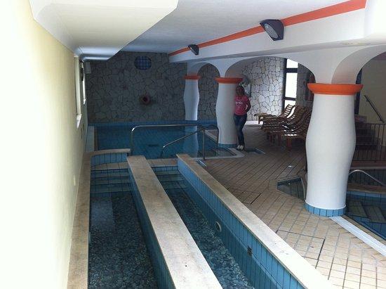 Poggio Aragosta Hotel & Spa: Terme e salute: kneipp, piscina idromassaggio, percorso piedi