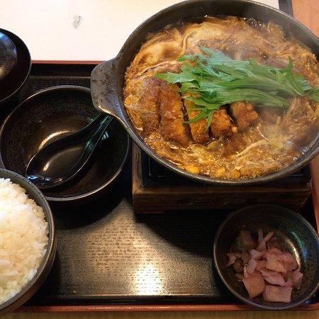 Shabushabu Sukiyaki Don-Tei Musashino: 今週(5/14〜)のお昼の特別お品書きと、 カツとじ鍋、バースデーアイスケーキ🍨