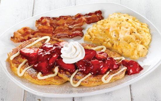 Apalachin, NY: Strawberry Croissant French Toast Platter
