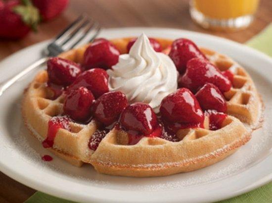 Apalachin, NY: Strawberry Waffle