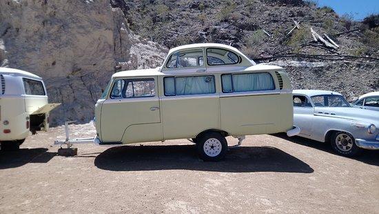Nelson, Νεβάδα: VW camper caravan