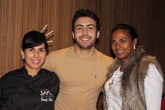 Sushi San: Daniely Brito, Lucas e Neusinha