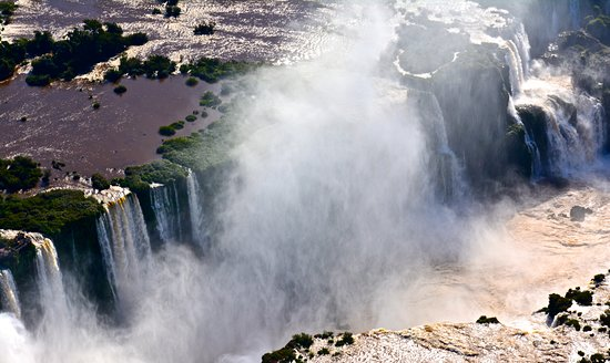 Helisul Taxi Aereo Voos Panoramicos: iguazu falls. more photos on flickr: