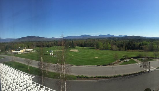 Whitefield, NH: View from our King Grand View room.