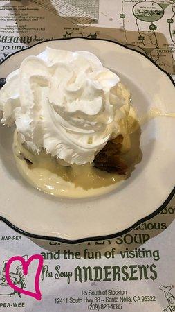 Santa Nella, Kalifornien: Home Made Honey Bread Pudding