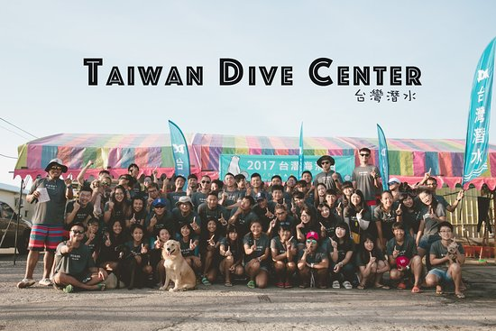 Hengchun, Pingtung: Taiwan dive center team