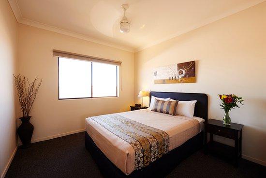 Blackwater, Australia: One Bedroom Apartment Bedroom