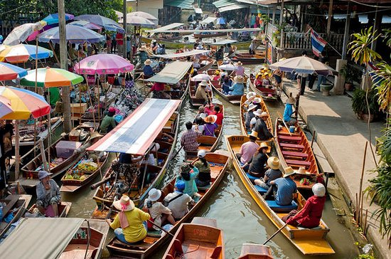 Evening Trip to Amphawa Floating...