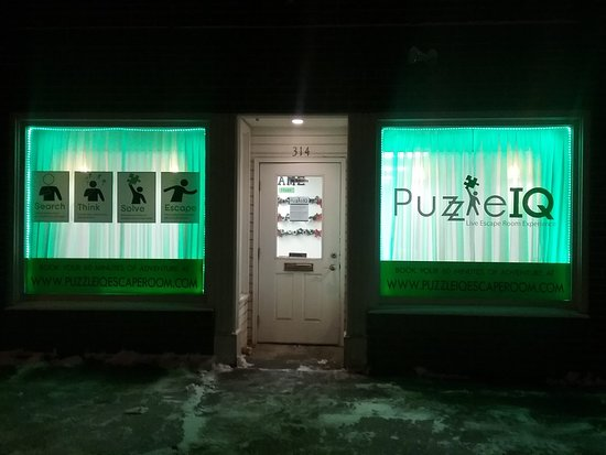 Moscow, ID: If you are wondering where we are on Washington Street...just look for the green windows!