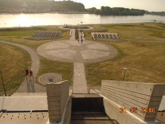 Bezdan, Serbia: Kilátás a múzeum tetejéről