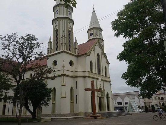 Braco Do Norte: Essa é a Igreja Matríz da minha cidade, Braço do Norte, Santa Catarina-Brasil