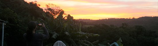 Umzumbe, جنوب أفريقيا: Stunning African sunsets from our deck