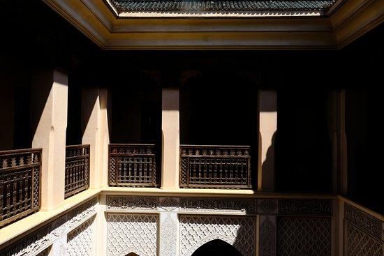 Riad Kniza: second story walkway outside room