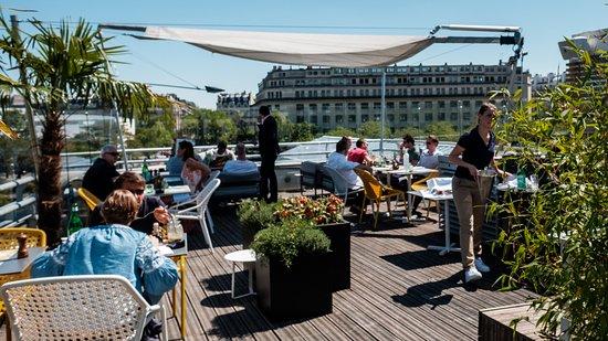 Toit Terrasse Molitor Paris 16th Arr Passy Restaurant
