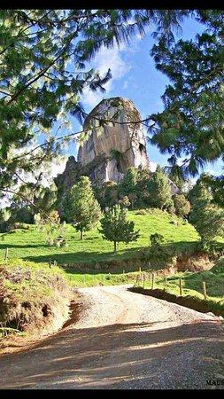 Piedra del peñol Entrerrios Antioquia Colombia