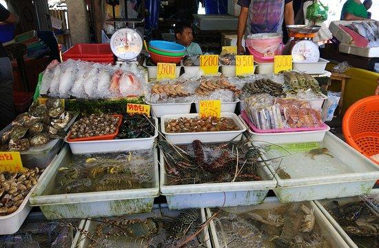 Seafood Market: рынок