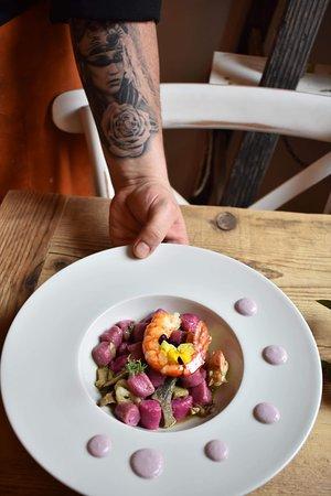 Le Coccinelle Petit Bistrot: Gnocchi alla Rapa Rosa