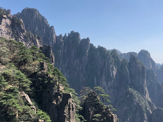 Huangshan, Kina: West Sea Grand Canyon