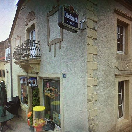 Consdorf, Luxemburgo: Cafe de la poste
