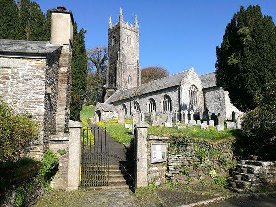 Altarnun, UK: St Nonnas