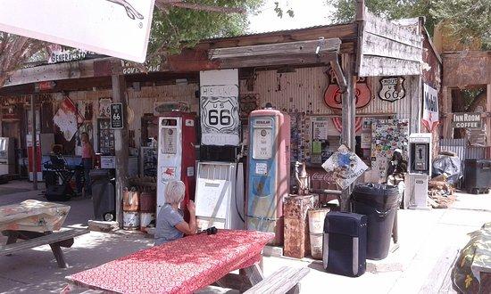 Hackberry, Arizona: Pause Détente
