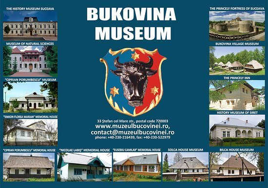 The Bukovina Museum manages 13 museal objectives in Suceava county.