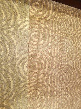 Golden Flower Hotel, Xi'an: Room carpet