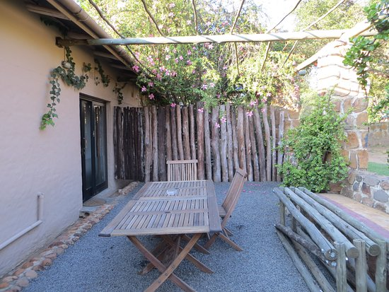 Rorke's Drift, South Africa: The outside area of Kune