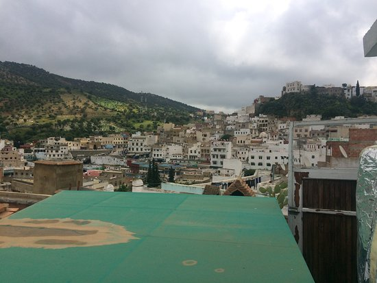 Moulay Idriss, Morocco: View from the terrace