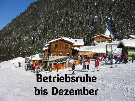 Gargellen, ออสเตรีย: Liebe Gäste, ab Dezember haben wir wieder für euch geöffnet. Euer Barga-Team