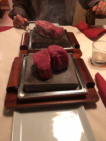 Superb steak!