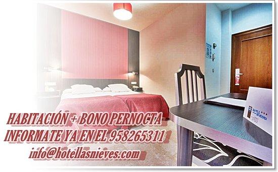 Las Nieves Hotel: Habitación + Bono Pernocta