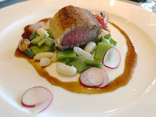 ERMITAGE Wellness- & Spa-Hotel : The not so juicy lamb.