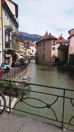 Pont des Amours: desde el puente