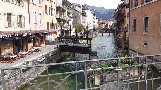 Pont des Amours: vista lateral