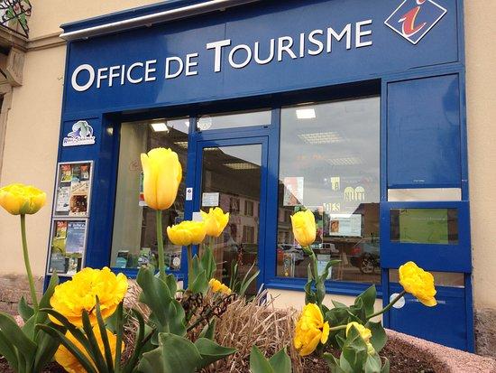 Ronchamp, France: L'entrée de l'office de tourisme