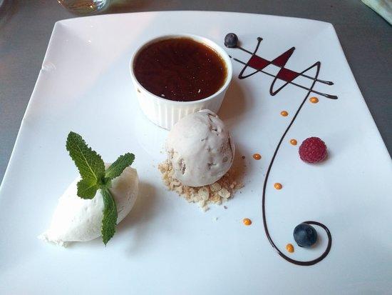 Rijs, The Netherlands: Dessert, koffie panna cotta