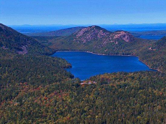 Trenton, ME: Jordan Pond, Acadia National Park