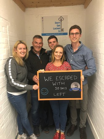 Amazing Escape From Team Saracinos Gone Wildes Our Quickest