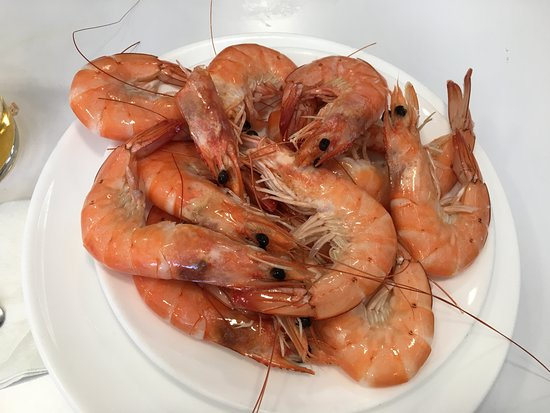 Bar Los Diamantes: gambas