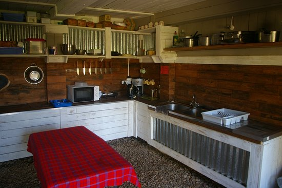 Gordon's Bay, Republika Południowej Afryki: communal stocked kitchen