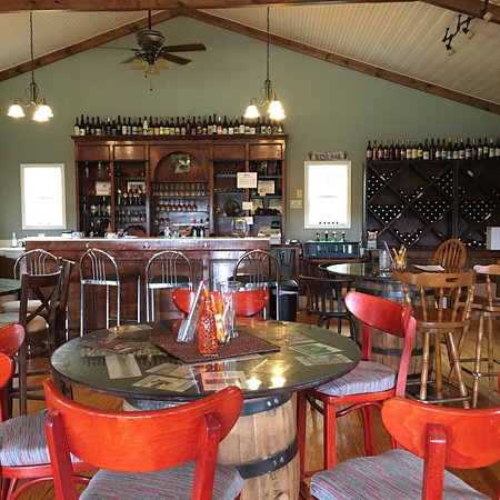 This is a lovely, peaceful vineyard and winery on the Enoree River in Newberry SC, outside of Co