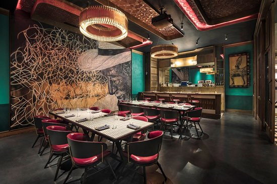 The Private Dining Room At Sugarcane Raw Bar Grill In Las Vegas