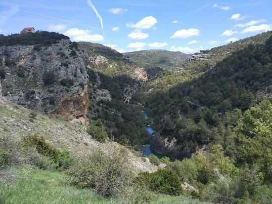 Villalba de la Sierra, Spanien: Ventano del Diablo