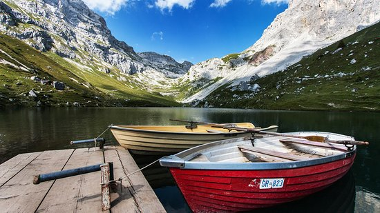 Gruesch, Switzerland: Partnunsee, ©Ueli Käser